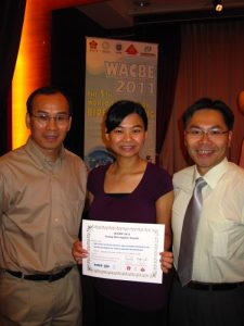 Award – Clare Yip & Dr. Ezra Kwok
