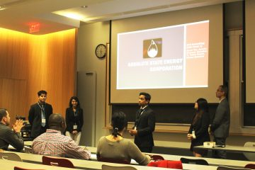 UBC Oil&Gas team at Case Competition