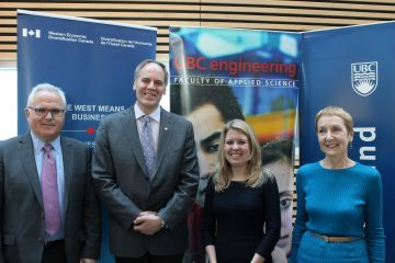 Dr. Peter Englezos, Dr. David Wilkinson, Michelle Rempel MP, Dr. Helen Burt