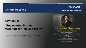 Christopher E. Wilmer – Engineering Porous Materials for Fun and Profit