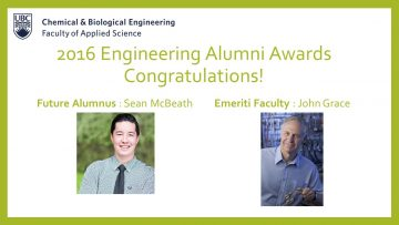 Congratulations to the Engineering Alumni Award recipients