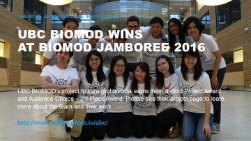 UBC BIOMOD is curing glioblastima