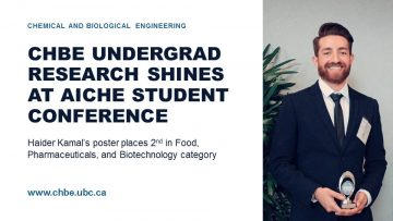 Undergrad Research Shines at AIChE Student Conference
