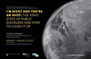 Killam Connection Public Scholarship Lecture: January 23 2017