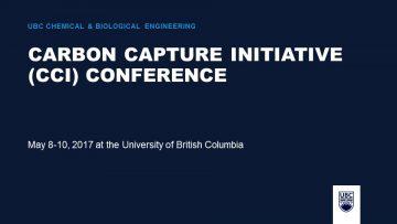 Carbon Capture Initiative (CCI) Conference