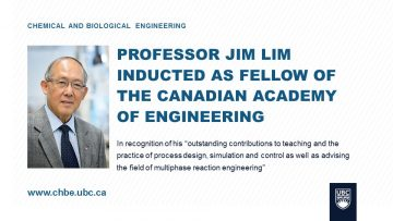 Lim Inducted as CAE Fellow