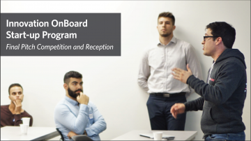 Innovation OnBoard Fair (Jan 24) and Final Competition (Feb 8)