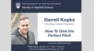 Innovation OnBoard – Darrell Kopke – January 31 2018
