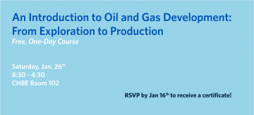 An Introduction to Oil & Gas Development – One Day Course