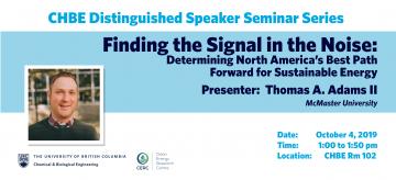 Distinguished Speaker Seminar – Professor Thomas A. Adams II