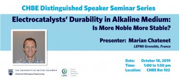 Distinguished Speaker Seminar – Professor Marian Chatenet