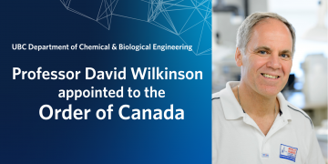 David Wilkinson appointed to the Order of Canada