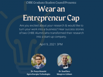 Wear an Entrepreneur Cap Event