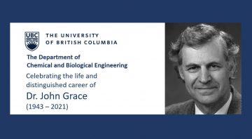 Celebrating the Life of Dr. John Grace