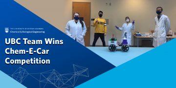 UBC Chem-E-Car Team Wins AIChE PNW Regional Competition